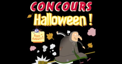 Gagnants concours Halloween