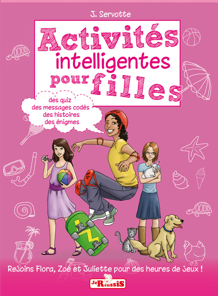 couv cahier fille