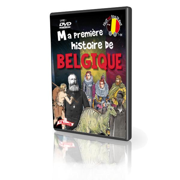 histoire de belgique dvd 3d