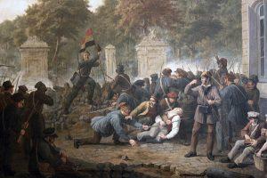 Constantinus-Fidelio-Coene-1830-Scène-de-la-révolution-belge
