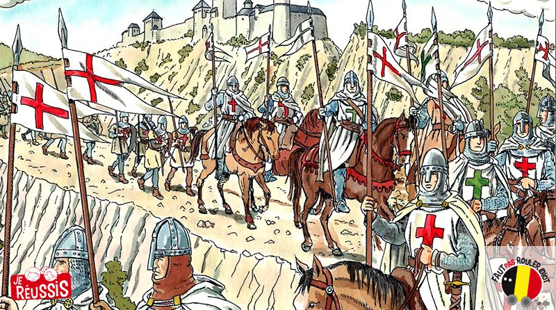 La croisade des Belges et de Godefroid de Bouillon - Je réussis