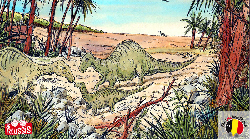 Les dinosaures en Belgique