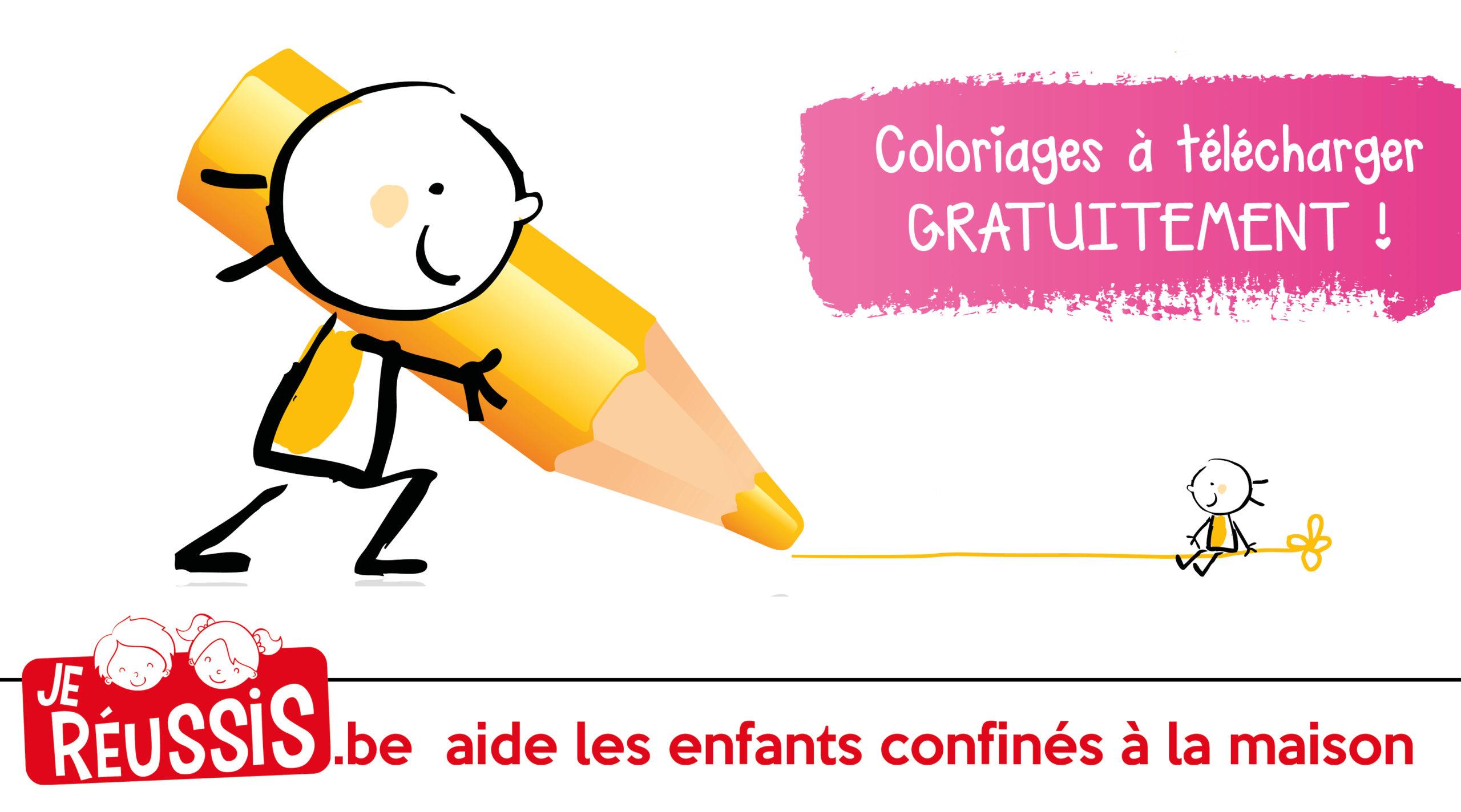 Des Coloriages Gratuits Pour Occuper Les Enfants Je Reussis