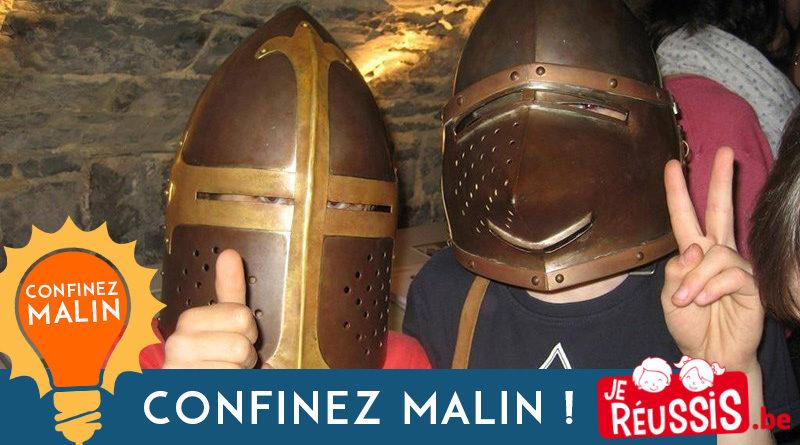 Des activités à faire à la maison avec la Maison du patrimoine médiéval mosan !
