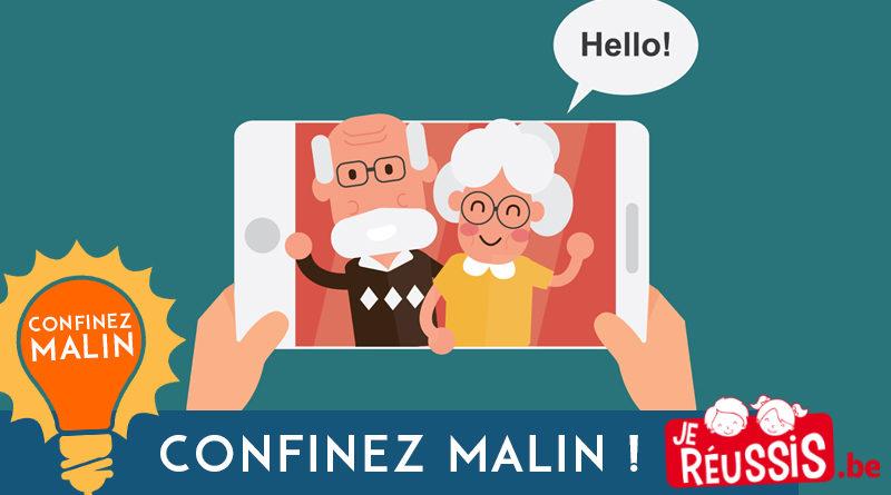 Comment garder le contact avec les grands-parents ?