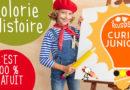 Curio Junior : Colorie l'Histoire