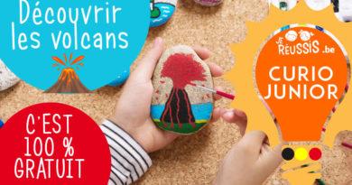 Curio Junior : Découvrir les volcans