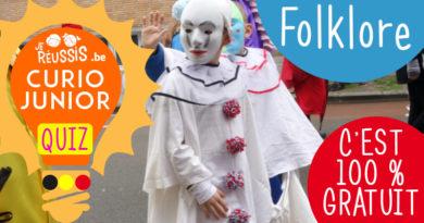 Curio Junior : Quiz – Le folklore belge