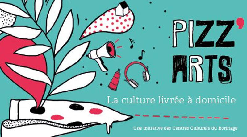 Pizz'art : de la culture à domicile pour égayer le confinement